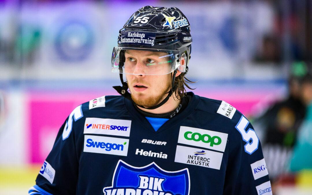 Aronsson återvänder till BIK Karlskoga