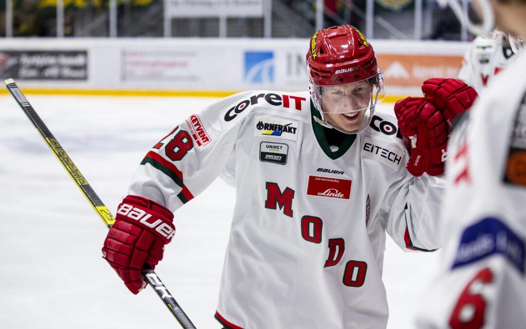 Pettersson förlänger med MODO