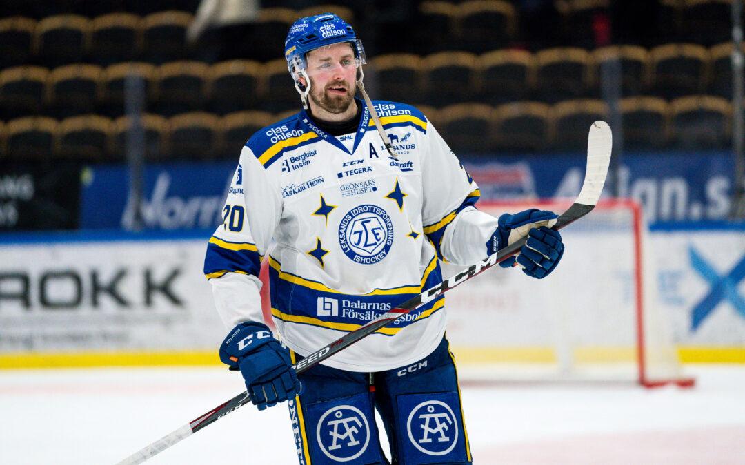 Karlsson lämnar Leksand