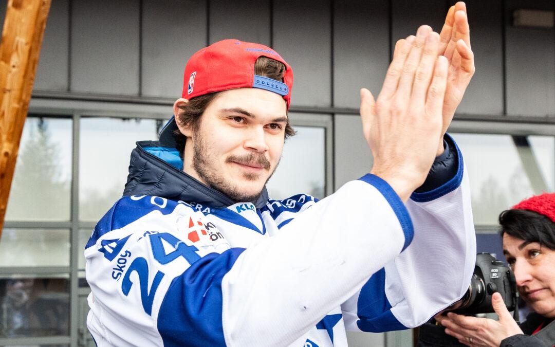 Valkvæ-Olsen blir inte kvar i Leksand